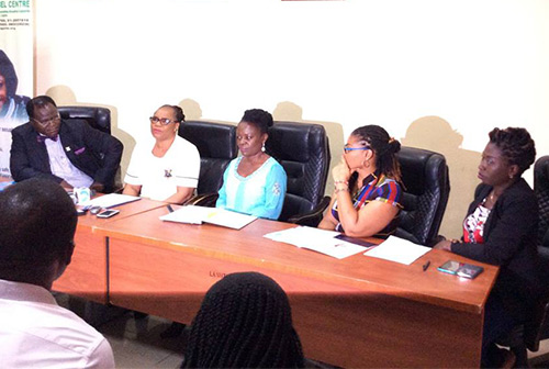 Mirabel Centre press conference on activities marking its 2years anniversary.