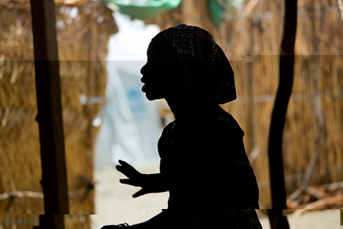 This 15 year-old Nigerian refugee at the Minawao refugee camp in northern Cameroon, was abducted by Boko Haram and spent four months in captivity. Photo credit : UNICEF